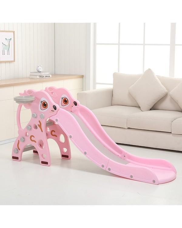 Горка Оленёнок PS-040-P розовый