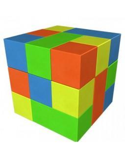 Мягкий конструктор Кубик-рубик