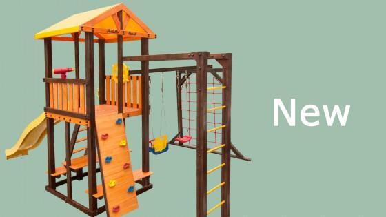 Детские площадки от полюбившегося нам производителя!- Perfetto Sport
