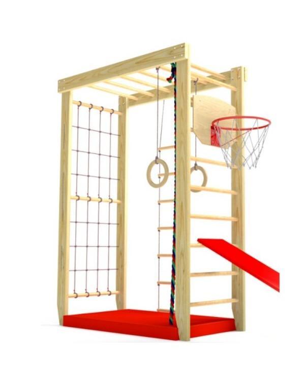 Детский спортивный комплекс П-образный (гладиаторская)