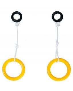 Кольца гимнастические пластмасса для дск