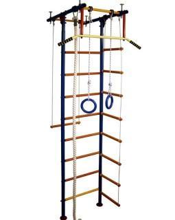 Детский спортивный комплекс Юнга 2.1Д, ступени дерево