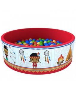 Сухой бассейн Индейцы с шариками