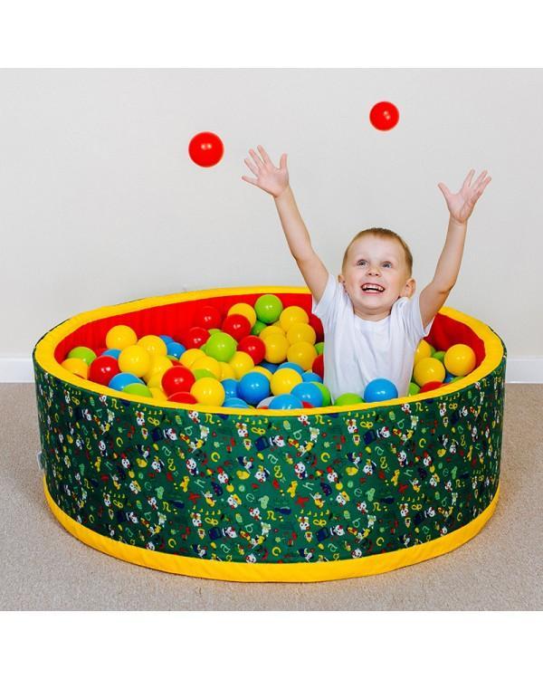 Сухой бассейн Romana Веселая полянка +100 шариков