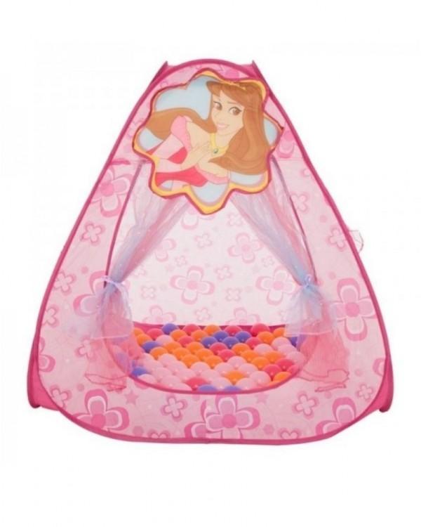 Домик игровой Принцесса+ 100 шариков
