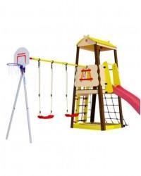 Детский игровой комплекс для дачи Карусель