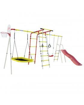 Детский комплекс Romana Лесная поляна-3 лодка + ПК со щитом горка