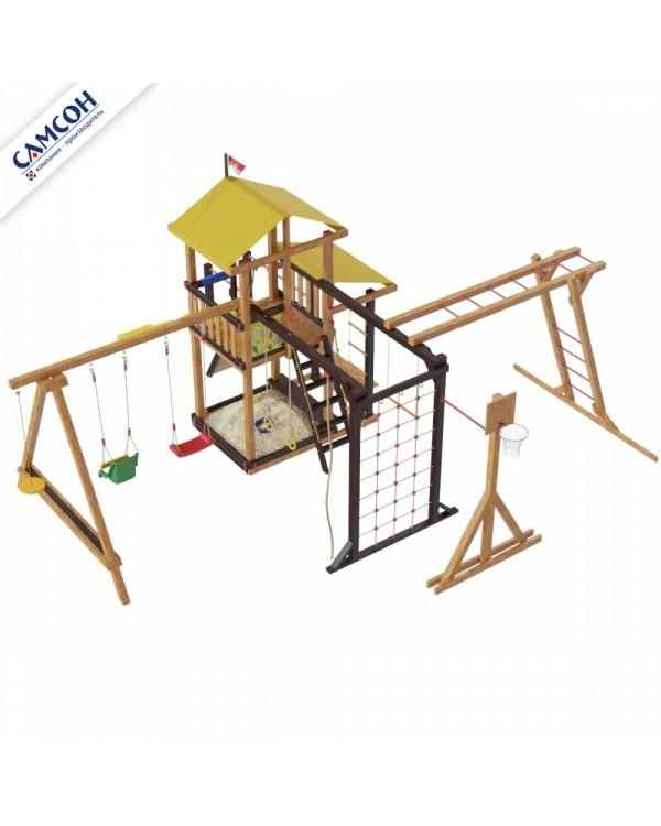 Детская площадка Самсон КИРИБАТИ семейная