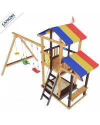 Детский игровой комплекс для дачи Самсон