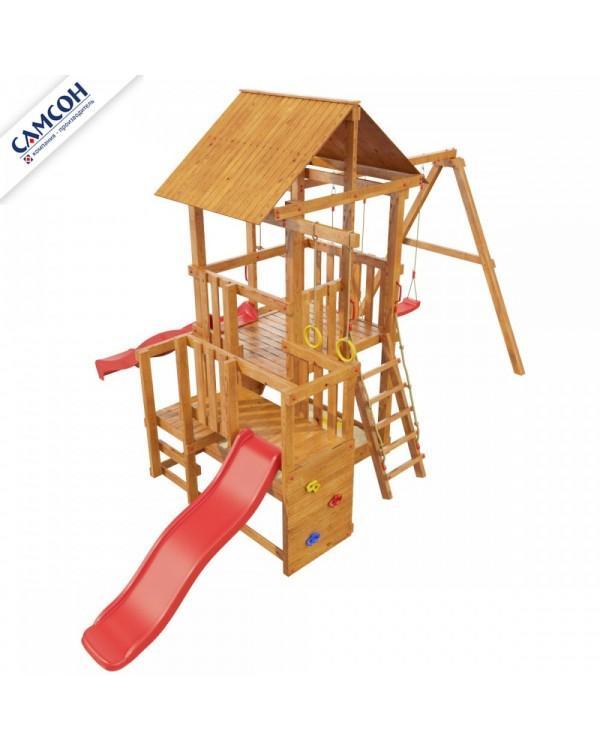 Детская площадка Самсон Сибирика с 2-мя горками