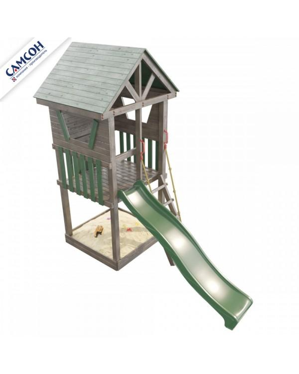Детская площадка Самсон Сибирика  башня
