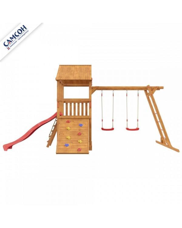 Детская площадка Самсон Сибирика с рукоходом