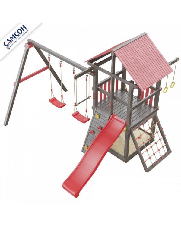 Детская площадка Самсон Сибирика с сеткой
