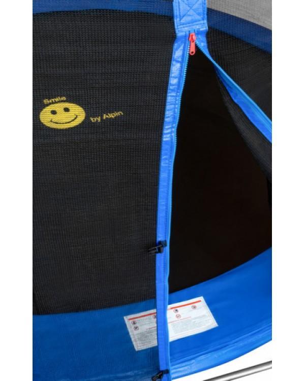 Батут Smile STG с защитной сеткой и лестницей
